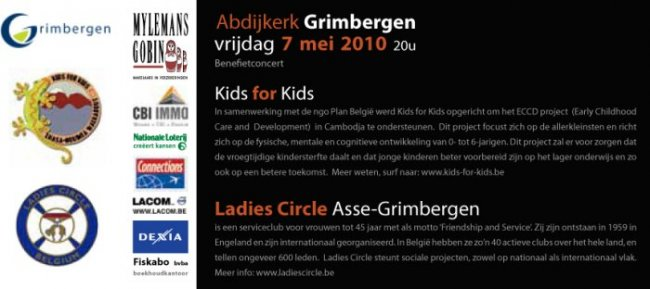 Ladies Circle Asse-Grimbergen: Benefietconcert georganiseerd door Ladies Circle Asse-Grimbergen