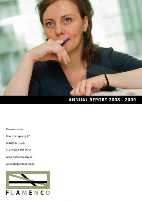 Flanders Knowledge Area vzw: Digitaal drukwerk: jaarverslag van Flamenco vzw
