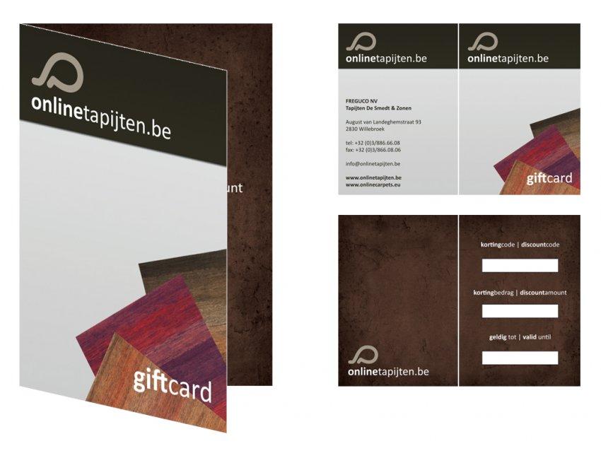 Onlinetapijten - Freguco  NV: Kortingkaart | Voucher Onlinetapijten.be