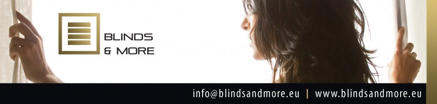 Blinds & More bvba: Logo Blinds & More en Blinds & Magnets