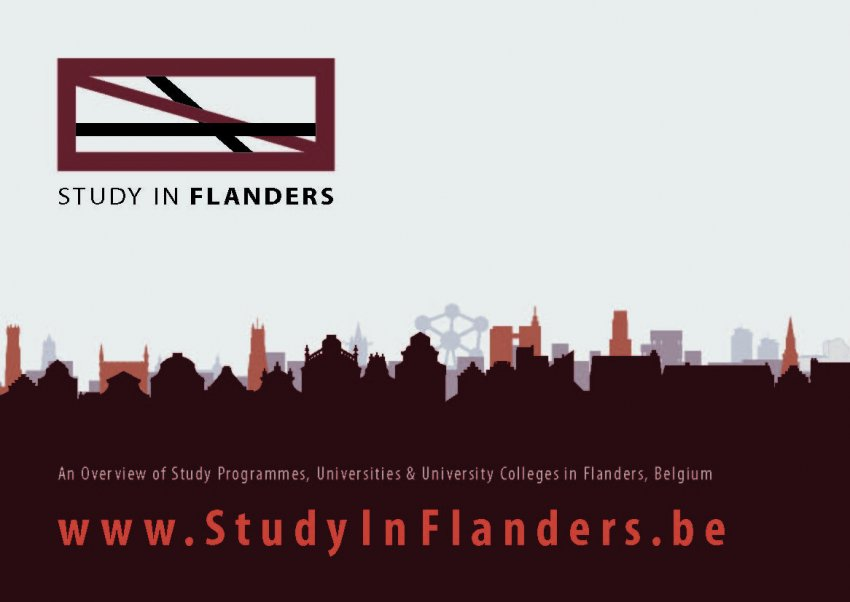 VLUHR: Postkaarten Study In Flanders / Research In Flanders