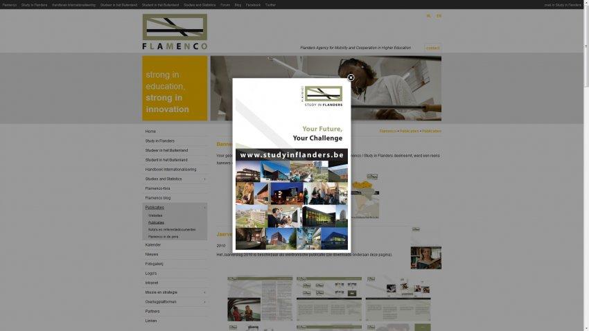 VLUHR: Restyling website & integratie sociale media