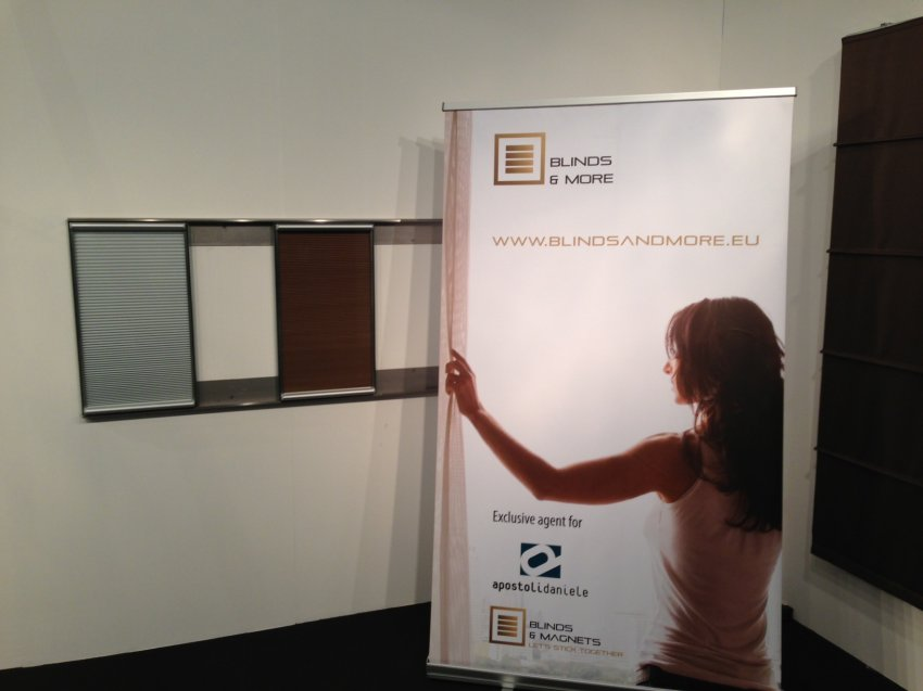 Blinds & More bvba: Roll-up Banner