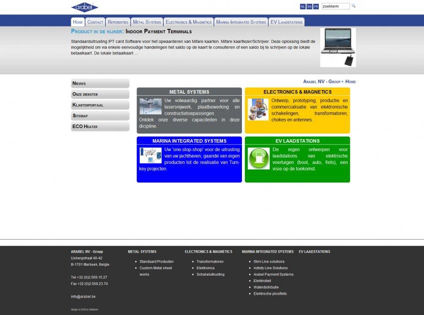 Arabel n.v.: Webshop van Arabel