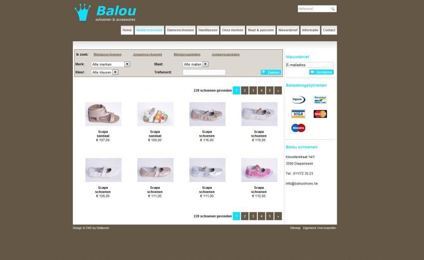 Balou Kinderschoenen - Wederholdt Elke: Webshop van Balou Shoenen
