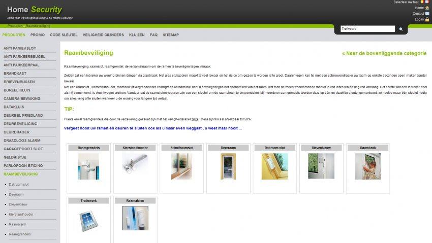 Collier Security bvba: Webshop van Collier Security