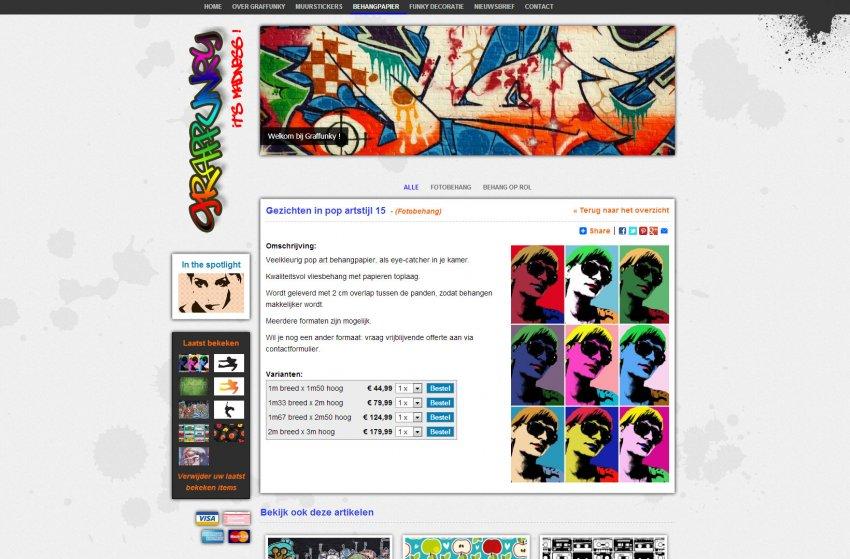 Graffunky: Webshop van Graffunky