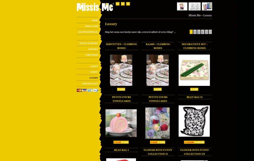 MissisMe: Webshop van MissisMe