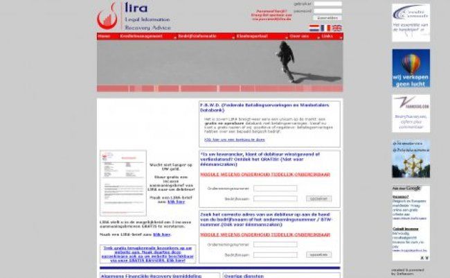 LIRA nv: www.lira.be